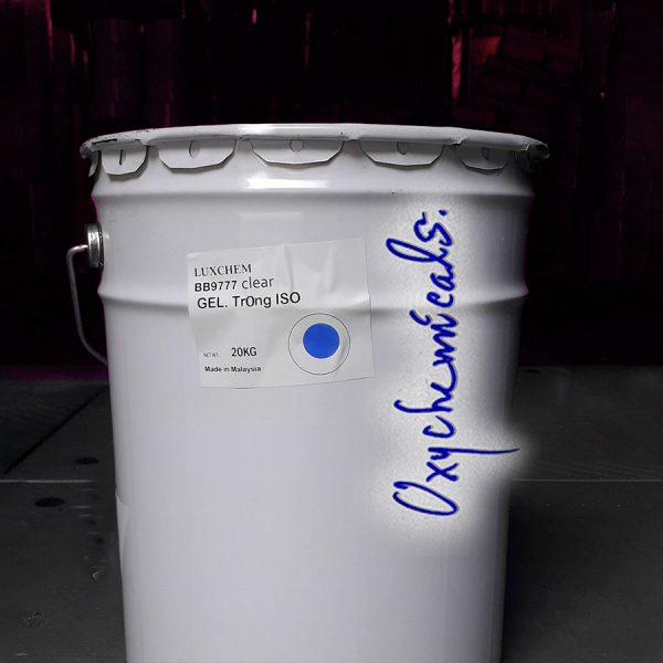 gelcoat clear ISO luxchem